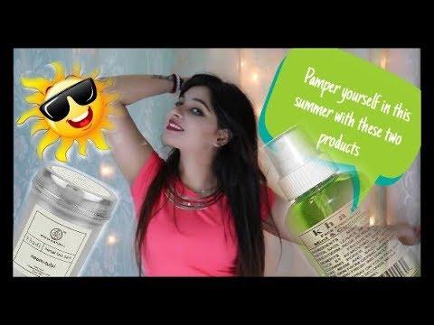 Khadi Neem and Tulsi & Khadi Mint and Cucumber  Face mist|Review Hindi|Amazing you