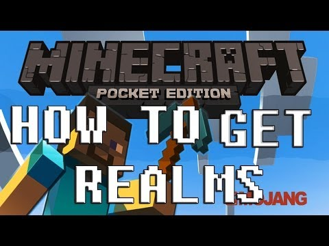 How to get Realms / Servers in Minecraft Pocket Edition 0.7.6