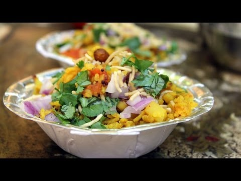 Indian Poha simple flat rice recipe