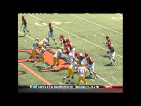 Vernon Harris DB Highlights (4 Games)