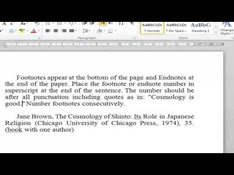 Footnote in MS Word Change Direction from left to rigth - Arabic