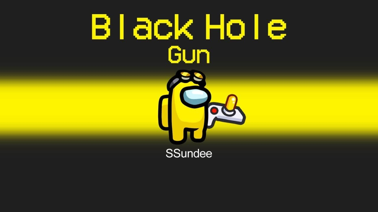 BLACK HOLE IMPOSTER Mod in Among Us