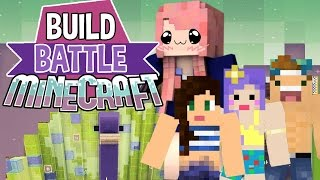 Princess Peacock | Build Battle | Minecraft Building Minigame