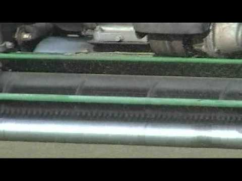 Greens Perfection Video Demo 1-4-2011 Mowing
