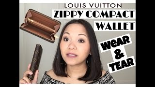 d23abafb6ad7 LOUIS VUITTON Zippy Compact Wallet Wear and Tear