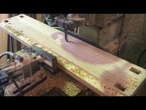 Amazing Woodworking Project - How To Build Extremely Large Window Frame With Hardwood