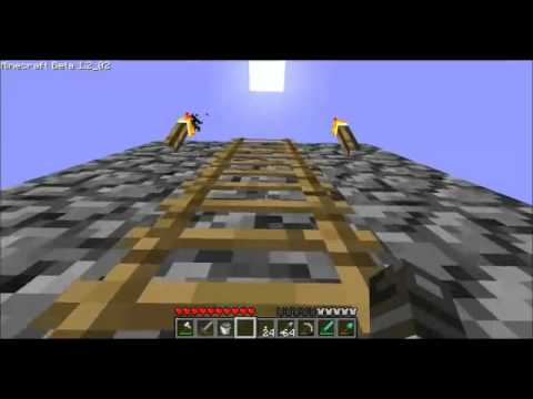 diving board on minecraft