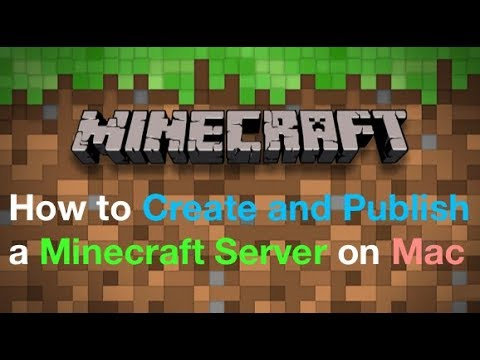 [Mac] How to Install and Publish a Minecraft Server