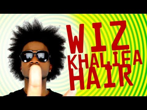 WIZ KHALIFA HAIR & easy afro styles - ckhidHAIR ep. 14