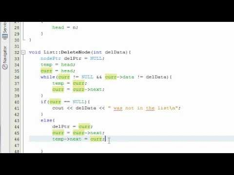 Creating a Linked List Project in C++ Part 5