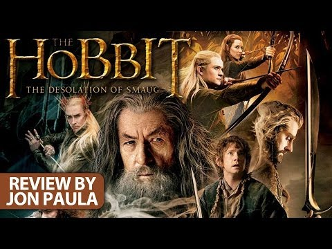 The Hobbit: The Desolation Of Smaug -- Movie Review #JPMN