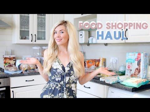 FOOD SHOPPING HAUL WHAT WE BOUGHT THIS WEEK   KATE MURNANE AD