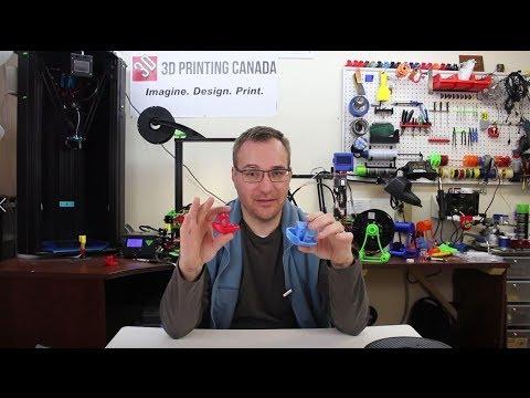 Évaluation PLA et Polycarbonate+ - 3D Printing Canada