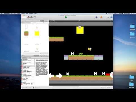 GameSalad Platformer Tutorial 009 - Flying enemies