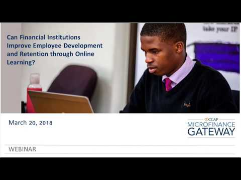 Can Financial Institutions Improve Employee Development and Retention Through Online Learning?