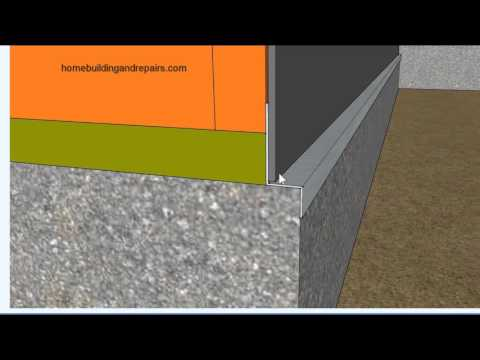 Extended Foundation Base for Brick or Stone Might Require Flashing – Home Building and Remodeling