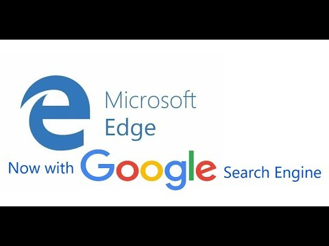 Set Google Search Engine as Default in Microsoft Edge Browser