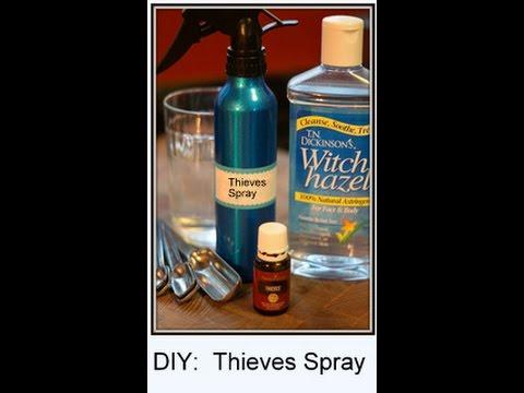 DIY Cleaning Product | Thieves Spray, Multi Purpose Spray