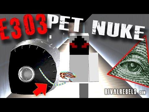 Funny Walking Nuke vs Illuminati Lab Minecraft Series #6