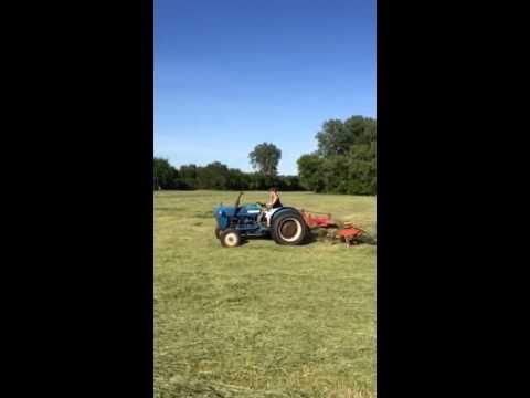 Hayin' 2014 - Tedding- Dobbin Main field