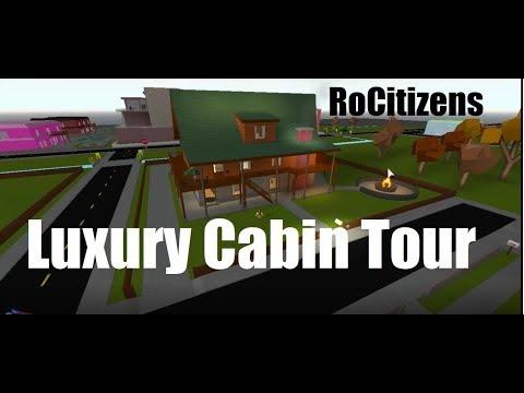 Luxury Cabin Tour | RoCitizens (ROBLOX)