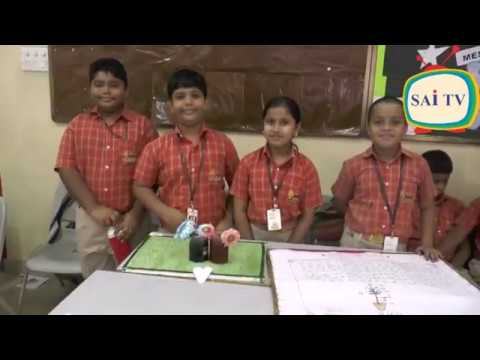 science exhibition for class 4th and 5th At Sai International