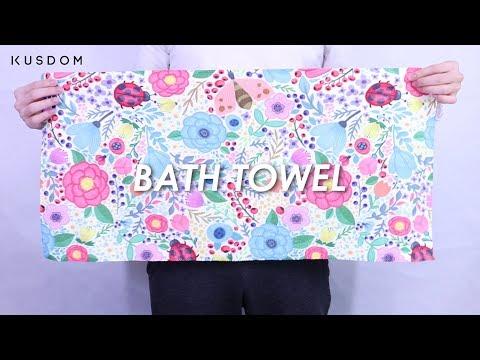 Bath towel - Design Your Own