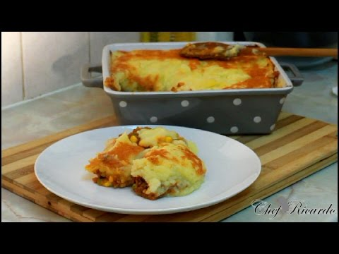 How To Make Shepherd'S Pie With Cheese- At Home English Recipes | Recipes By Chef Ricardo