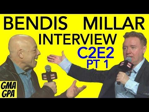 C2E2 2018 Part 1 : Interview With Brian Michael Bendis & Mark Millar On Marvel & DC Comics Superman