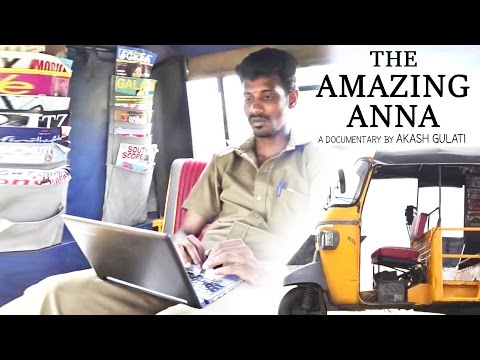 The Amazing Anna - Inspiring Tamil Documentary Of An Auto Rickshaw Driver (With English Subtitle)