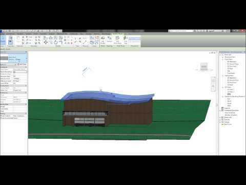 10 - Revit Tutorial - Roofs (Part 2) - Roof by Extrusion