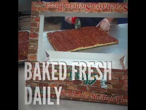 Scachatta Pizza @ Alessi Bakeries