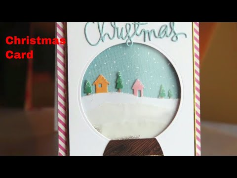 HOW TO MAKE CHRISTMAS CARD AT HOME | CHRISTMAS GIFT IDEAS