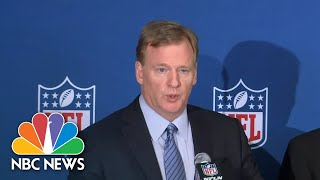 NFL Announces Policy To Stop National Anthem Protests | NBC News