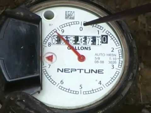 How to use your water meter to check for potential water leaks, Instructional video