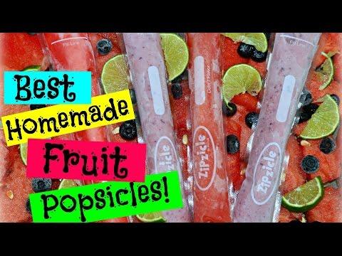 DIY Summer Treats: 3 Easy Different Homemade Fruit Popsicles
