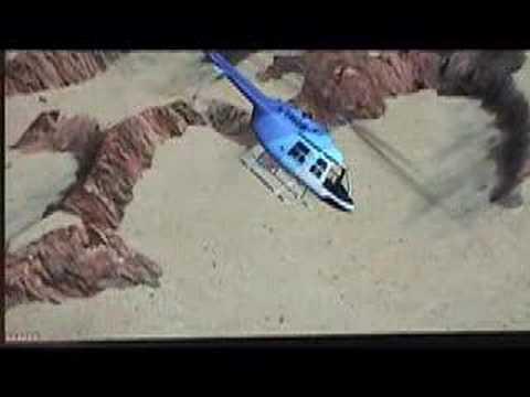 Flight Simulator X ~Canyon Copter