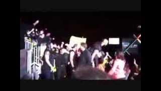 The Shield Attacks Justin Bieber live
