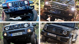 TOP 10 World's Best Off-Road SUV 2019