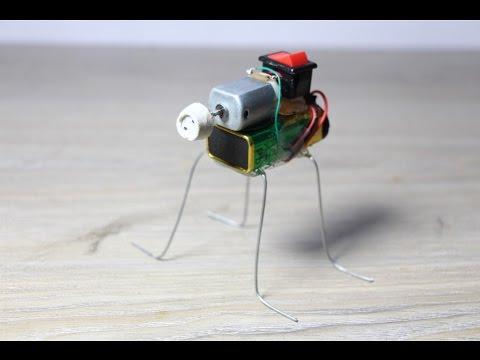 How to make a walking Robot at Home - diy