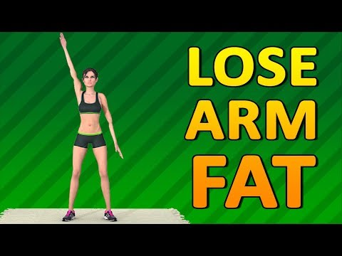 How To Lose Arm Fat - Home Workout