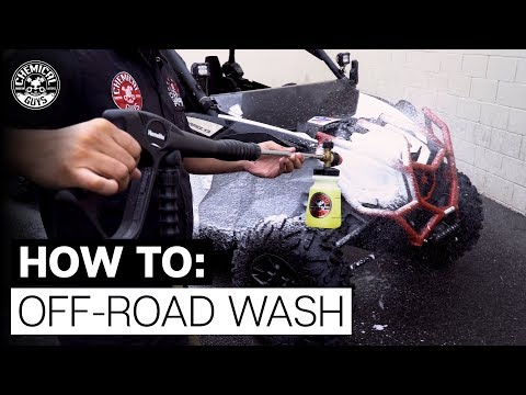 How To Clean Your Dirty Off-Road Truck, ATV or Dirt Bike! - Chemical Guys