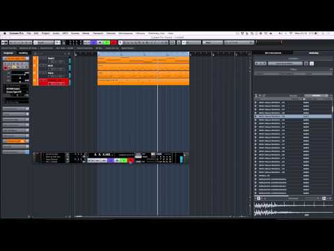 Cubase Pro 8 - Sample Based House Music Composition
