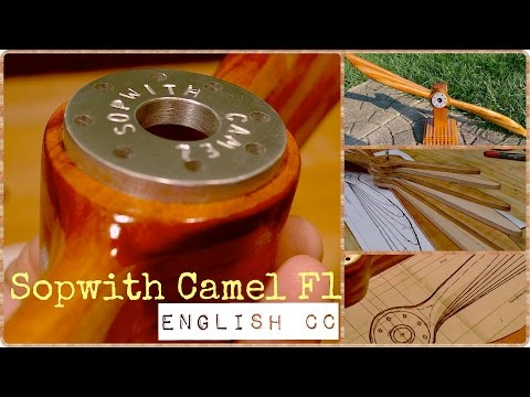 How to Make a Wooden Propeller. English CC