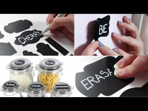 Blami Chalkboard Label set with 99 items