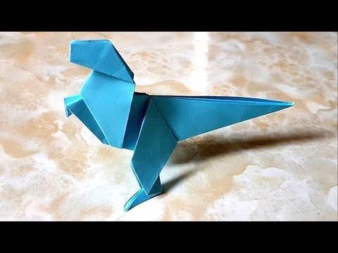 Cool Origami  DINOSAUR - Origami easy tutorial