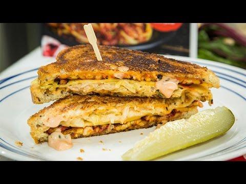 Recipe - Vegan Tempeh Reuben Sandwich with Russian Dressing - Hallmark Channel
