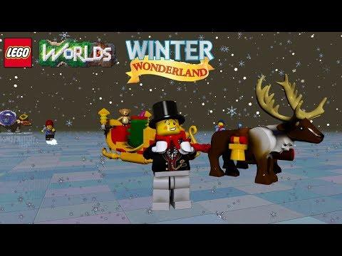 LEGO Worlds NEW Free Winter Wonderland Christmas Biome and Unlocks!