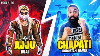 WHEN 2 NOOBS PLAY WITH AJJU BHAI @Total Gaming | GARENA FREE FIRE