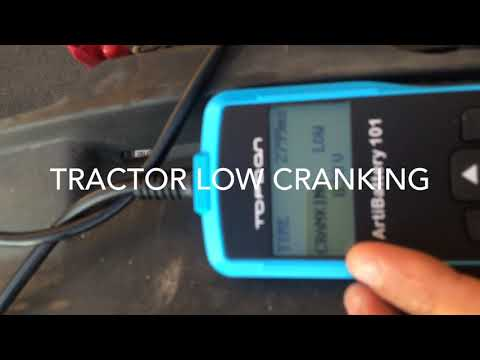 Load, Cranking, Charging Testing With Topton Digital Battery Tester